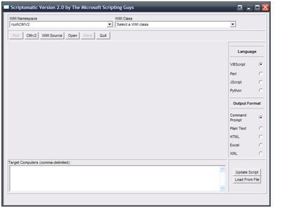 up time KB - Using Scriptomatic to create custom monitors